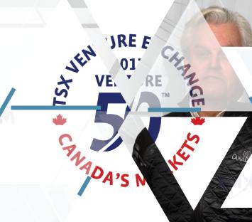 TSX Venture 50 – CanaDream